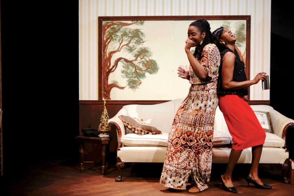 Two actresses perform in DCIAR